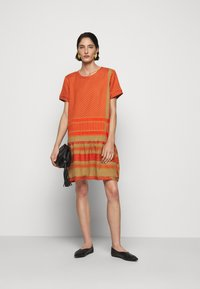 CECILIE copenhagen - DRESS - Day dress - orange - 1