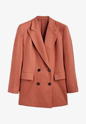 Short coat - neon pink