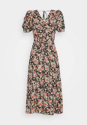 GRUNGE MIDI DRESS - Day dress - multi