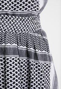 CECILIE copenhagen - SKIRT - Minigonna - black/white - 4
