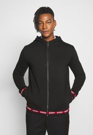 DAPLE - veste en sweat zippée - black