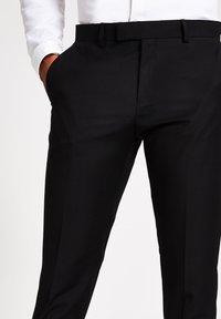 River Island - Pantaloni eleganti - black - 3