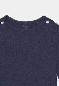 Noppies - NATAL UNISEX - T-shirt à manches longues - navy melange - 2