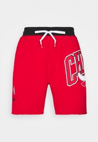 Nike Performance - NBA CHICAGO BULLS SHORT - Squadra - university red/black/white - 3