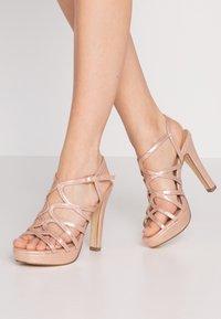 Menbur - High heeled sandals - even rose - 0
