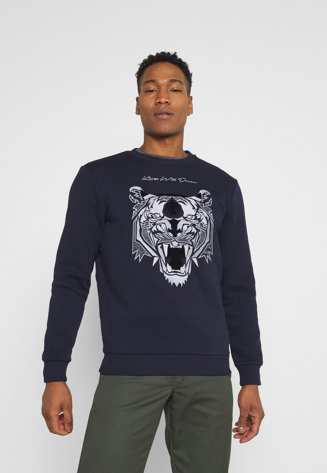 DEMON - Sweater - navy
