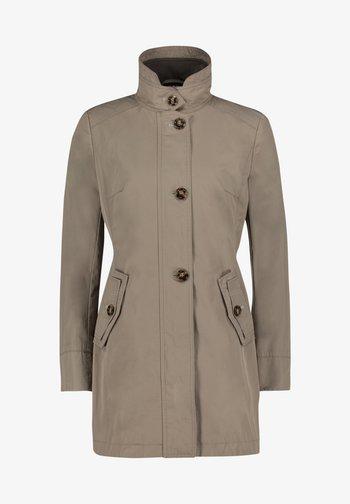 Short coat - safari beige