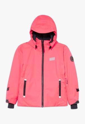 LWJODIE 700 - Snowboard jacket - coral red