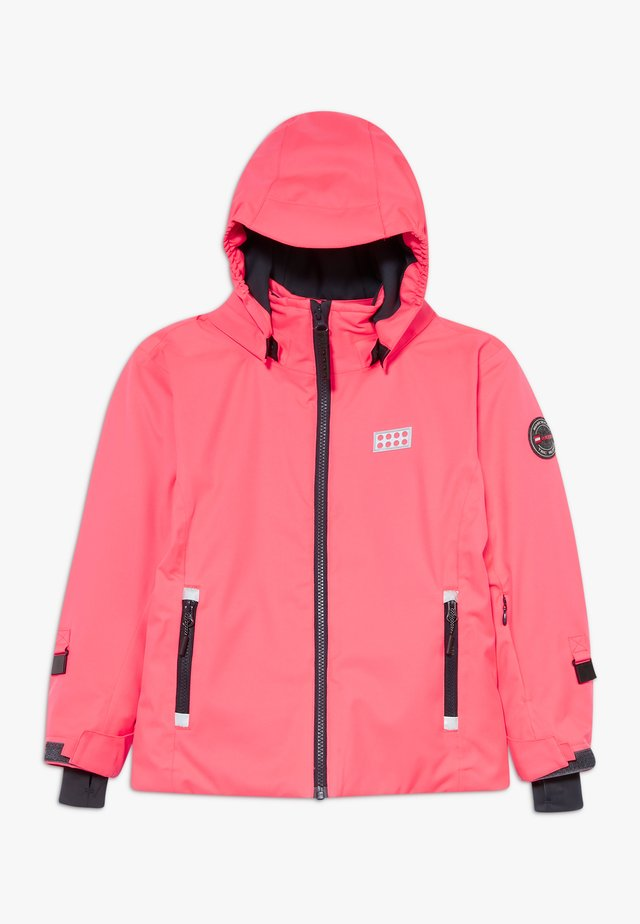 LWJODIE 700 - Giacca da snowboard - coral red
