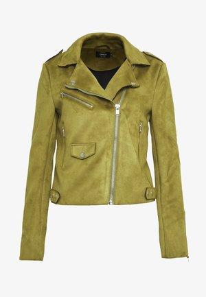 ONLSHERRY   - Faux leather jacket - lizard