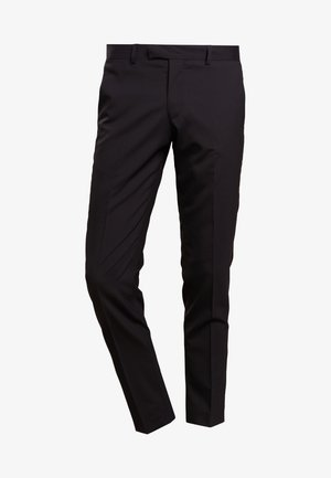 GORDON - Suit trousers - black