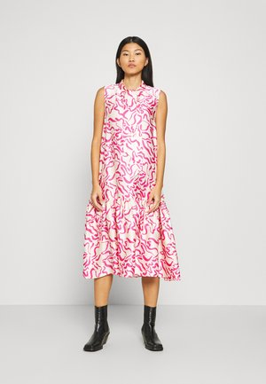 DRESS - Vapaa-ajan mekko - white dusty light
