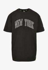Starter - NEW YORK TEE - Printtipaita - black - 4