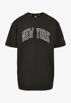 NEW YORK TEE - Print T-shirt - black