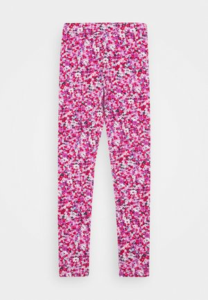 ALLOVER PRINTED - Leggings - Trousers - petunia multi