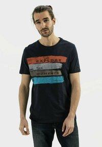 camel active - Print T-shirt - night blue - 0