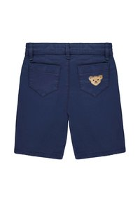 Steiff Collection - STEIFF COLLECTION BERMUDAS MIT TEDDYBÄRMOTIV - Shorts - dark blue - 1