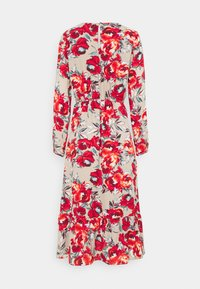 Vila - VIDOTTIES MIDI DRESS - Vardagsklänning - humus with red flowers - 1