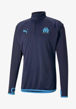 Sweatshirt - peacoat-bleu azur