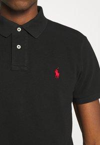 Polo Ralph Lauren - SLIM FIT MESH POLO SHIRT - Polo shirt - black - 5