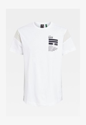 C&S BACK GRAPHIC + LOOSE - Print T-shirt - white
