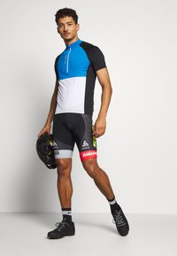 ODLO - SHORT SUSPENDERS SCOTT SRAM RACIN - Tights - black - 1