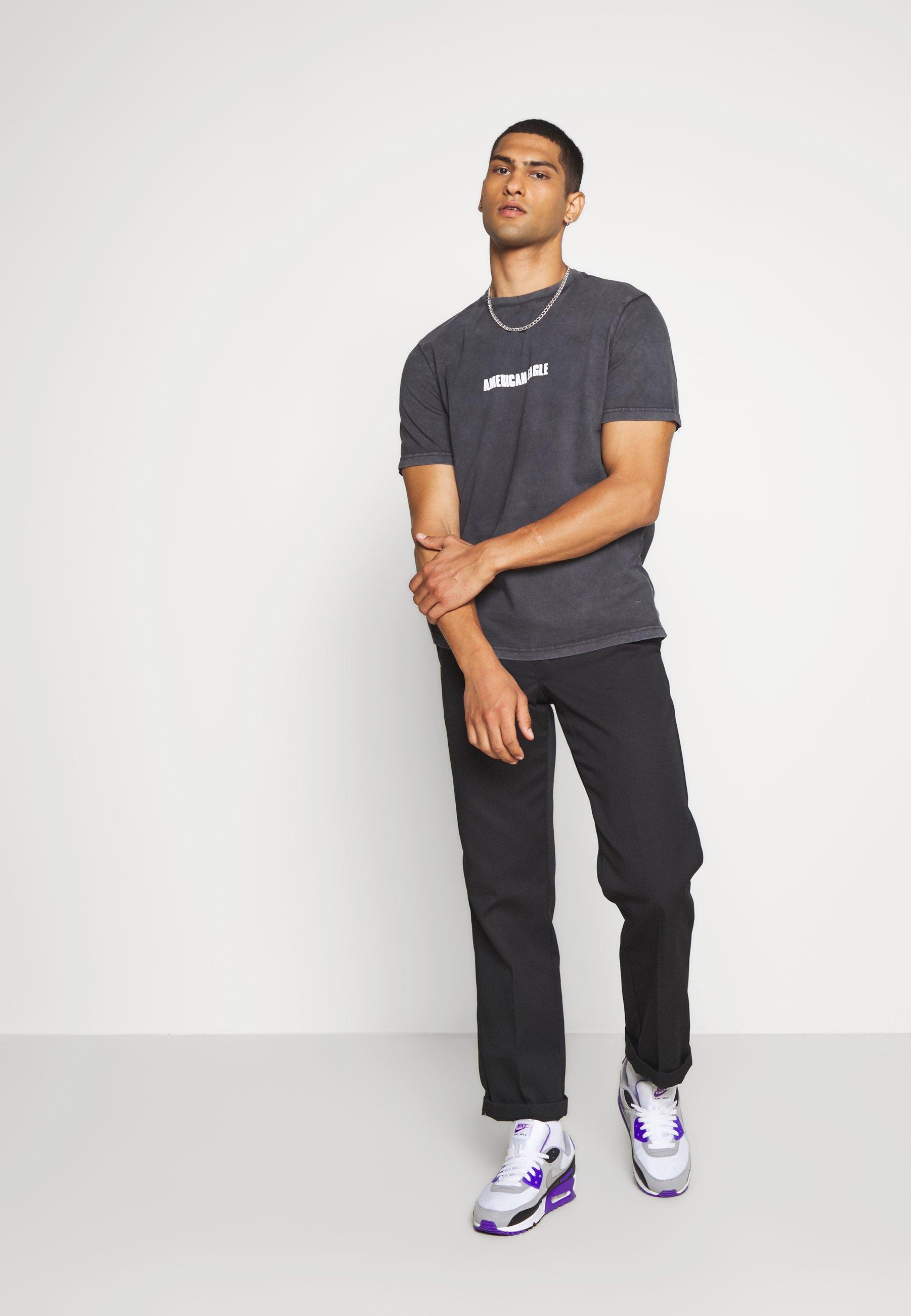 American Eagle Sundry Smooth - T-shirt Print Haze Grey