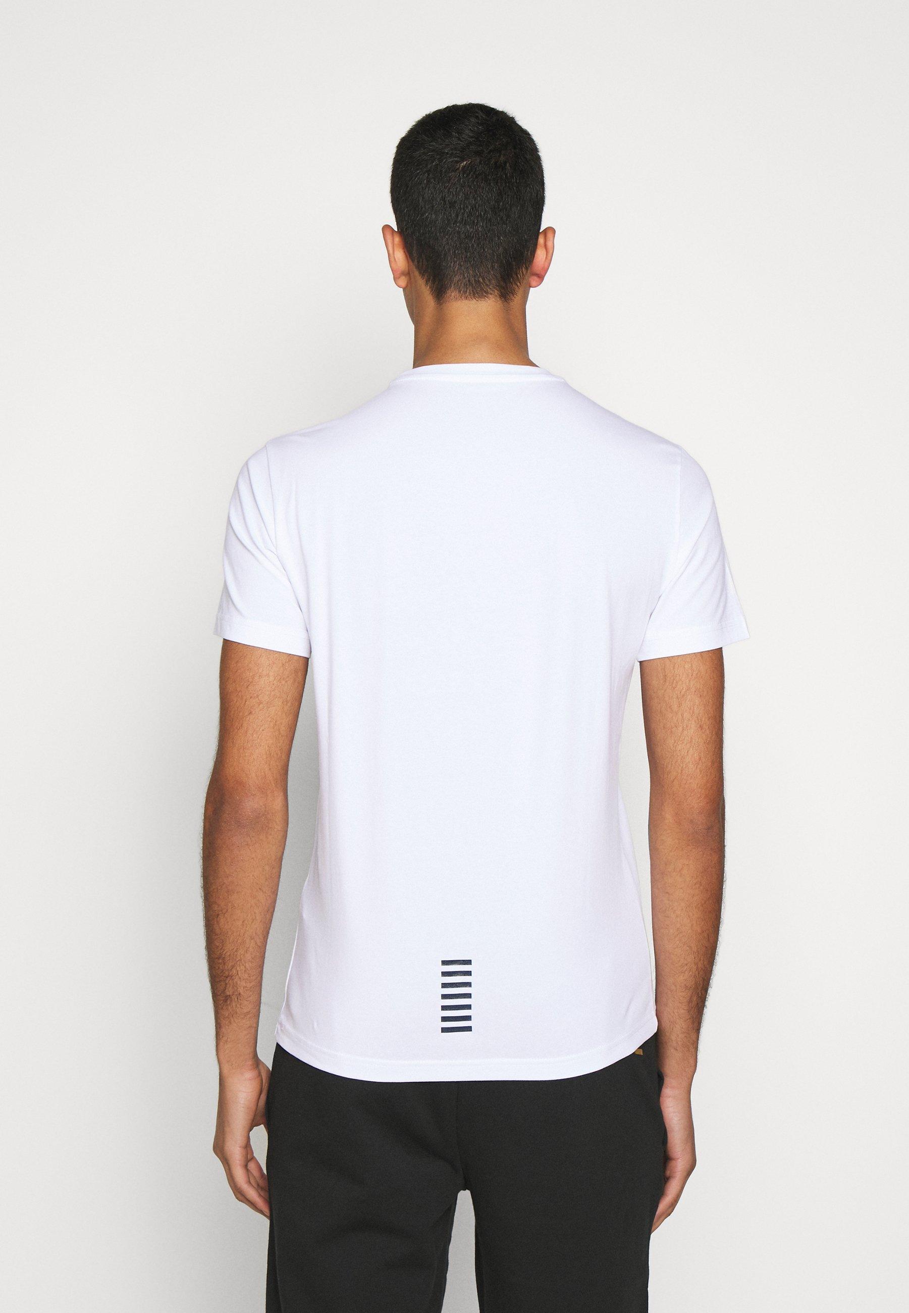 EA7 Emporio Armani Print T-shirt - white sRdHA