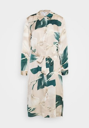 OBJFANIA DRESS - Kjole - humus