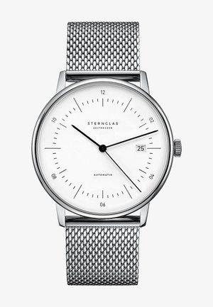 STERNGLAS HERREN-UHREN ANALOG AUTOMATIK - Watch - silver-coloured