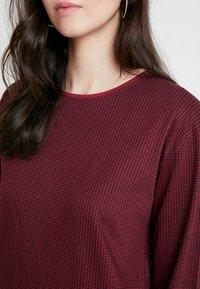 Wemoto - CODE - Jersey dress - black/dark red - 5