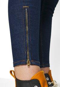 Lee - SCARLETT CROPPED - Jeans Skinny Fit - dark clement - 3