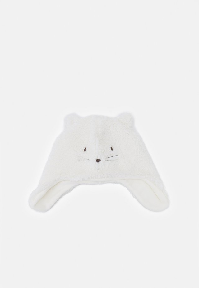 CAT HAT UNISEX - Bonnet - ivory frost