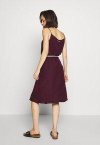 Ragwear - ANTOLIA DRESS - Day dress - plum - 2