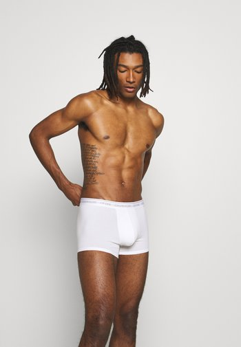 ONE TRUNK - Pants - white