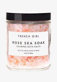 French Girl - ROSE SEA SOAK - CALMING BATH SALTS - Bubble bath & soak - - - 0