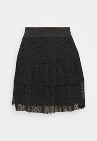 ONLY - ONLSANNA SHORT SKIRT  - A-line skirt - black - 0