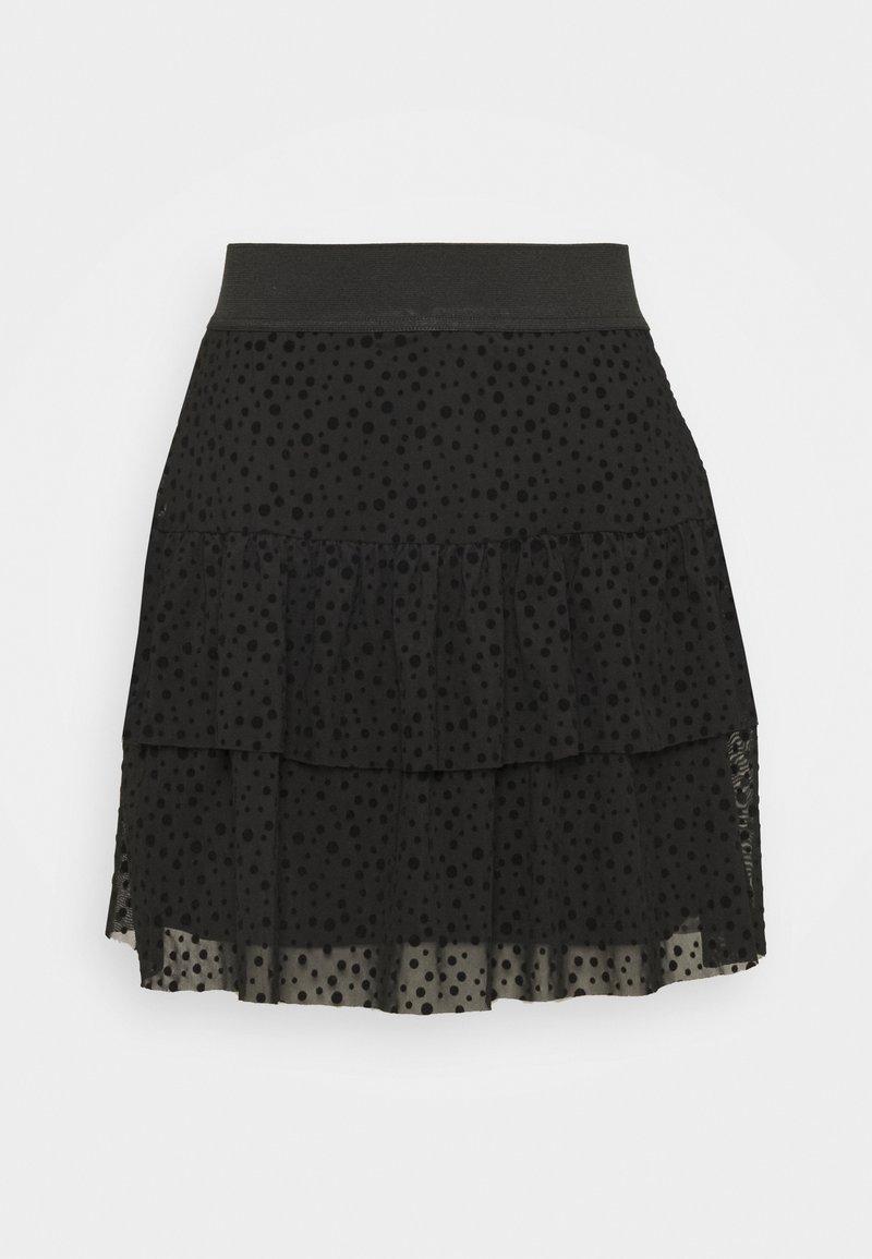 ONLY - ONLSANNA SHORT SKIRT  - A-line skirt - black