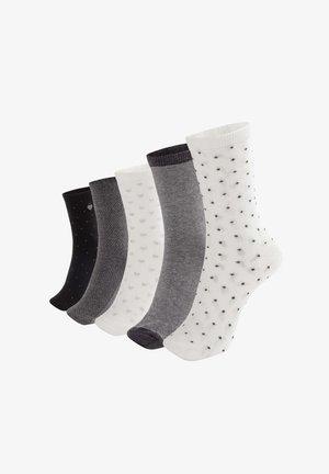 5 PACK - Ponožky - black
