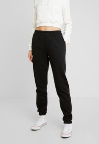 Nly by Nelly - COZY PANTS - Tracksuit bottoms - black - 0