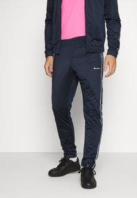 Champion - TRACKSUIT TAPE - Tracksuit - navy - 3