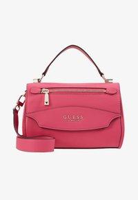 Guess - LIAS TOP HANDLE FLAP - Handbag - pink - 5