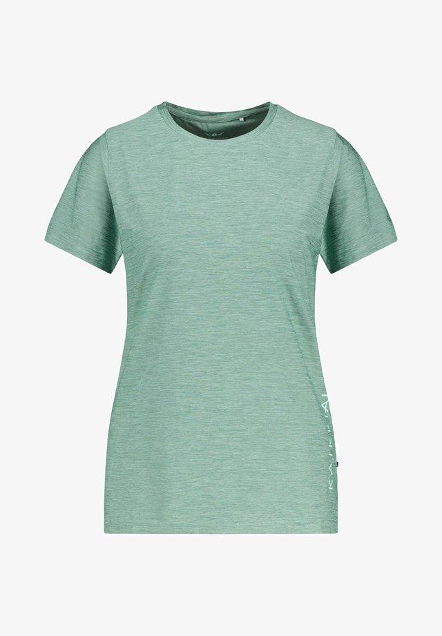 """KAJOO"" - Print T-shirt - grün"