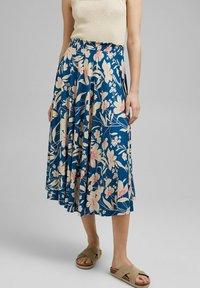 Esprit - A-snit nederdel/ A-formede nederdele - bright blue - 0