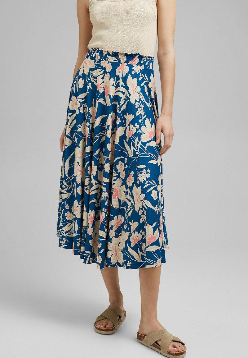 Esprit - A-snit nederdel/ A-formede nederdele - bright blue