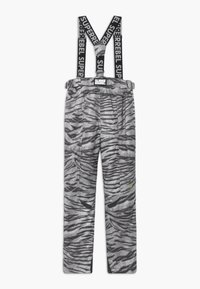 SuperRebel - SUSTAINABLE UNISEX - Snow pants - white - 1
