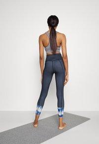 Sweaty Betty - SUPER SCULPT YOGA LEGGINGS - Trikoot - navy blue ink - 2