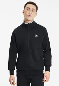Puma - Veste de survêtement - cotton black - 0