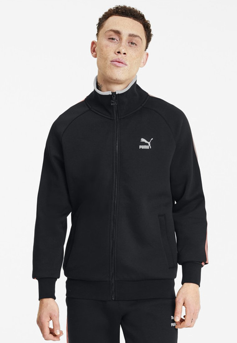 Puma - Veste de survêtement - cotton black