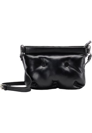 QUILTED BAG - Across body bag - black